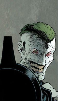Joker by Greg Capullo O Joker, Joker Dc Comics, Joker Und Harley Quinn, Joker Art, Joker Arkham, Batman Comic Art, Gotham Batman, Batman Robin, Nightwing