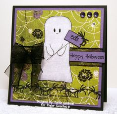 Designed by Pattie Goldman using Spooky Wishes stamp set from Paper Sweeties!