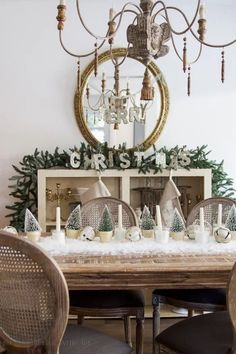 Tips for changing up your decor for Christmas every year and sticking to a budget by repurposing, remaking, and choosing versatile color palettes.
