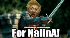 OMG I thought the song was called Narnia not Nanrina! XD