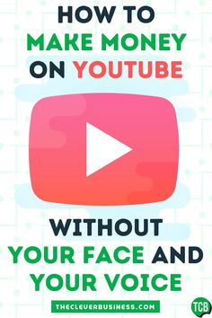 It's possible to make money online and from home on YouTube without your face and voice. Although most content on YouTube features people standing in front of cameras and start talking, there are several ways to start a YouTube channel to earn cash online without your face and voice. In this post, we'll show you how. #makemoneyfromhome #makemoneyonline #onlinebusiness #earncashonline #workfromhome #passiveincome #extraincomeideas #extramoneyideas #youtubevideoideas #startingyoutubechannel