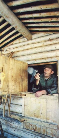 """Dick Proenneke moved to Alaska to live his dream. With hand tools and common sense he built the life that he always knew he wanted. The documentary """"Alone in the Wilderness"""" tells his story through his own journal writings and self-made films."""