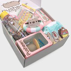 CultureFly | Pusheen Box Pusheen Gifts, Pusheen Cat, Bff Christmas Gifts, Cute Furniture, Kawaii Room, Cute School Supplies, Custom Tumblers, Diy Gifts, Crafts For Kids