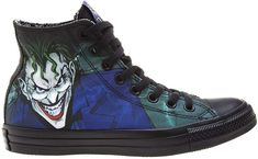 1f5241e9650 Converse Unisex Sneakers JOKER DC Comics Gr. 39 Chuck Taylor CT All Star  High Top Textil     150864C      Amazon.de  Schuhe   Handtaschen