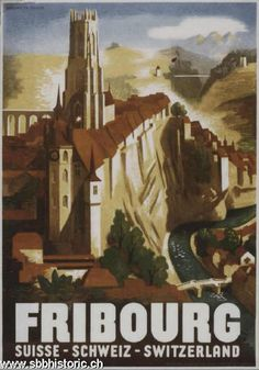 Fribourg - Fribourg. Suisse - Schweiz - Switzerland. -