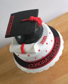 Graduation cake -
