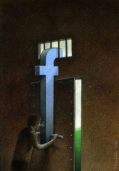現代社会を風刺したシュールなイラスト集