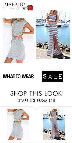 """""""What to Wear"""" by iloveapricot ❤ liked on Polyvore featuring maxfancydress"""