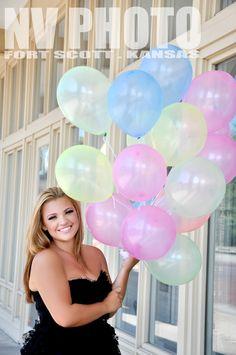 Sweet 16 Photography . Sixteen Balloons NV PHOTO Fort Scott, KS  @Madelyn Davies Martin