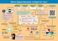 Janelle Frencham Infographic Resume - Digital Marketing Strategist   Social Media    Web Management   Content Marketing
