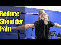 REDUCE SHOULDER PAIN w/ This Simple Drill