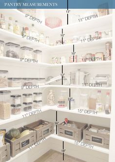 Do you know how to get the most out of your kitchen pantry storage? Read Ways to Create more pantry and kitchen Storage - maximize what you have got. pantry Pantry Cabinets – 7 Ways to Create Pantry and Kitchen Storage Kitchen Pantry Storage, Pantry Room, Kitchen Pantry Design, Walk In Pantry, Food Storage, Kitchen Decor, Kitchen Ideas, Kitchen Pantries, Kitchen Corner