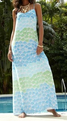 Lilly Pulitzer Dusk Strappy Silk Maxi Dress