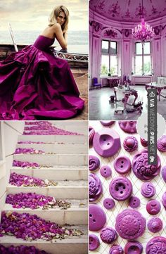 Yes - Pantone Color of the Year 2014 | Radiant Orchid 18-3224 | CHECK OUT MORE GREAT PURPLE WEDDING IDEAS AT WEDDINGPINS.NET | #weddings #wedding #purplewedding #purpleweddingphotos #events #forweddings #iloveweddings #purple #romance #vintage #planners #ilovepurple #ceremonyphotos #weddingphotos #weddingpictures