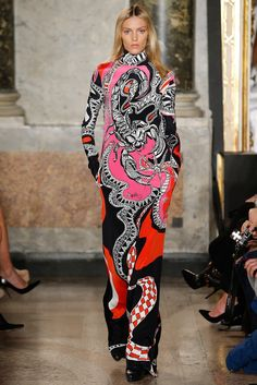 #fashion editorials, shows, campaigns & more!: emilio #pucci #fw 2015.16 #milan #runway #couture #graphic