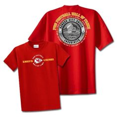 Kansas City #Chiefs Hall of Fame Legends T-Shirt 2013. Click to order! - $24.99