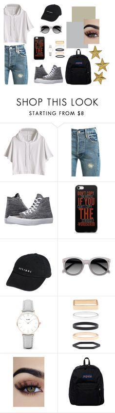"""""""Untitled #3"""" by deichaac on Polyvore featuring Levi's, Converse, Thrills, Ace, CLUSE, Accessorize and JanSport"""
