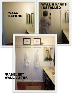 A great way to dress up a *blah* wall.!
