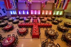 ACME Lighting for a Red Cross event