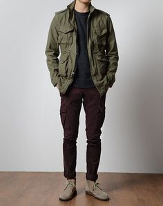 variablethreads: Get this look –> Jacket / Sweater / Pants / Boots >> Variable Threads << Raddest Men's Fashion Looks On The Internet