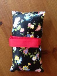 portacath pillow - wish I'd had one of these when I was on chemo - what a great idea!