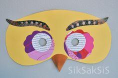 Askartele vekkulit eläinnaamarit! Art For Kids, Owl, Crafts, Craft Ideas, Art For Toddlers, Art Kids, Manualidades, Owls, Handmade Crafts