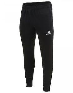 c5f8204d13fd Adidas Soccer Core 15 Training Pants Mens M35339 Black Athletic Apparel  Size XL