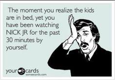 Aah bedtime...