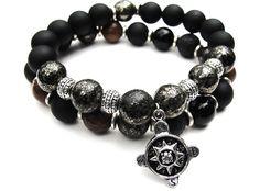 BOYBEADS_mens_black_onyx_compass_charm_guide_me_bracelets_for_guys_gold_sterling_silver_buddha_prayer_beads_buddhist_necklace_malachite_onyx1.JPG 781×578 pixels