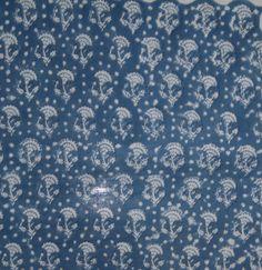 10 Yard Hand Block Print Running Floral Print Cotton Craft Summer Dress #Unbranded
