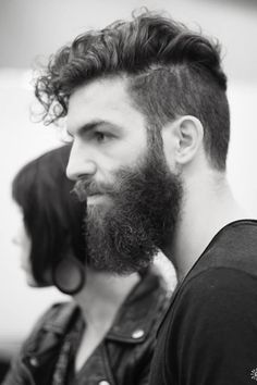 BEARDREVERED on TUMBLR | thelastofthewine: *** Handsome profile                                                                                                                                                     More