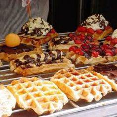 Deliciosos waffles de Bélgica @ allrecipes.com.ar