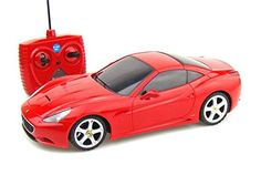 For the guy who has everything! A Red Ferrari California remote control car 1/18.