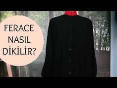 FERACE NASIL DİKİLİR? - YouTube Couture, Sewing, Clothes, Model, Patterns, Haute Couture, Outfit, High Fashion, Needlework