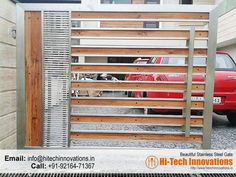 Stainless Steel Gate – HT-SSG-005 Grill Gate Design, House Main Gates Design, Steel Gate Design, Front Gate Design, Stainless Steel Stair Railing, Stainless Steel Gate, Cast Iron Gates, Wrought Iron Gates, Steel Stairs