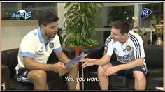 Aguero Interview to Messi