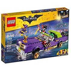 LEGO Batman The Joker Notorious Lowrider Building Toy: Amazon.co.uk: Toys & Games