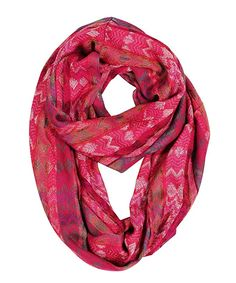 Anika Dali Amelia Chevron Pattern Luxurious Infinity Scarf (Festive Raspberry) at Amazon Women's Clothing store: Fashion Scarves Plaid Fashion, Floral Fashion, Fashion Scarves, Fashion Prints, Women's Fashion, Circle Fashion, Red Scarves, Winter Scarves, Loop Scarf