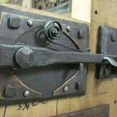 Thumb Latch by Darin Wicks