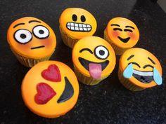 emoji cake - google search  Cool version of emoji cupcakes!!! Emoji Cake, Cupcakes, Cool Stuff, Google Search, Ideas, Decor, Cupcake Cakes, Decoration, Decorating