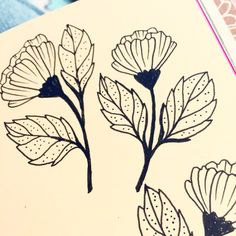 Love drawing on ivory paper…