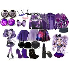 Ever After High Kitty Cheshire today by feefem on Polyvore featuring Ralph Lauren, Chicwish, Athleta, Bamboo, Giuseppe Zanotti, Valextra, CHARLES & KEITH, Chicnova Fashion, Eugenia Kim and women's clothing