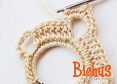 Bichus Amigurumis: Pendientes de Crochet - GRATIS - paso a paso