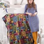 When Crochet Turns Abstract: Free Granny Afghan Pattern