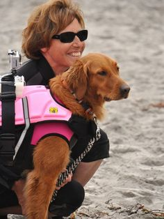 Four paws up, Surf Dog Ricochet has touched the lives of many.
