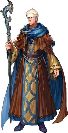 Young Human Wizard - Pathfinder PFRPG DND D&D d20 fantasy