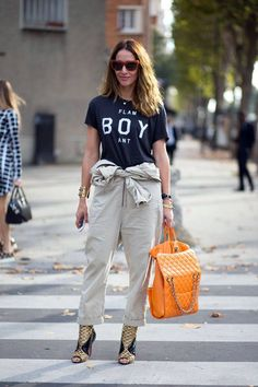Street Style : Cest Chic: Street Style from Paris Day 2
