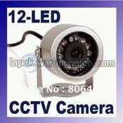 Kamera CCTV / CCTV Camera, Waterproof + 12 Led IR | SKU : A.0010 - Z7KuLe