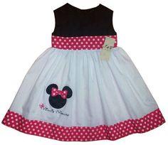 Vestidos de Minnie para niña - Imagui