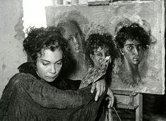 Henri Cartier-Bresson, Leonor Fini, Italy, 1933